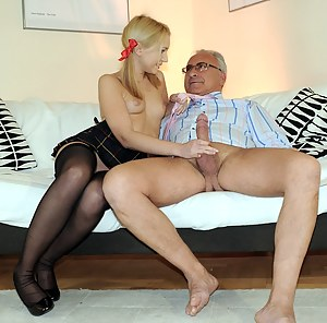 Sexy Old Man and Teen Porn Pictures
